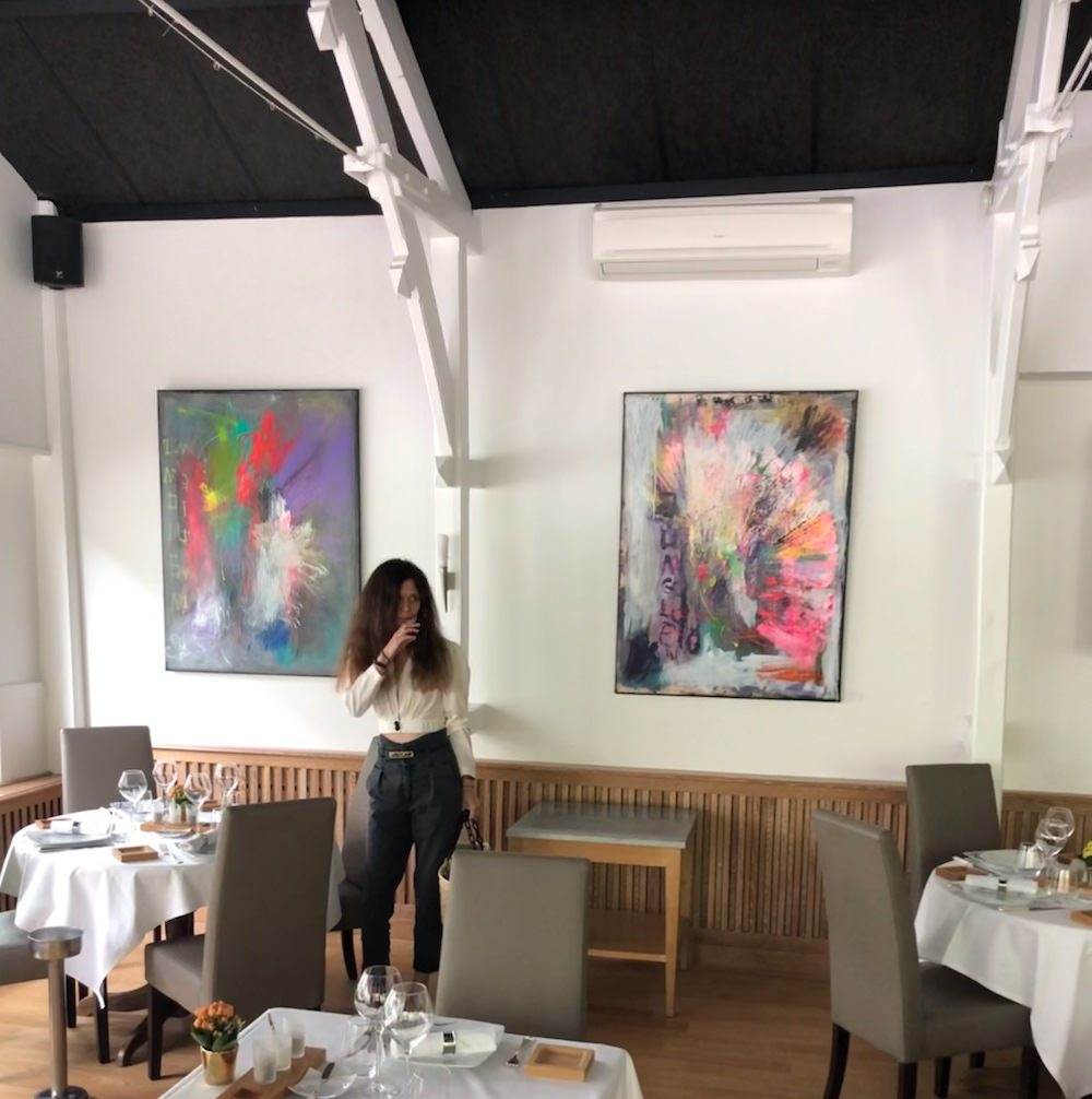 Marzena Lavrilleux - artiste peintre à Orléans